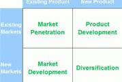 استفاده از مدل Ansoff برای توسعه کسب و کار