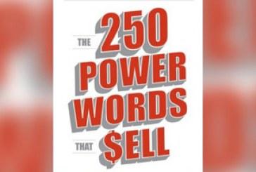 خلاصه کتاب: ۲۵۰ واژه قدرتمند در فروش