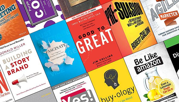 7 کتاب برتر بازاریابی از نگاه مدیرسبز