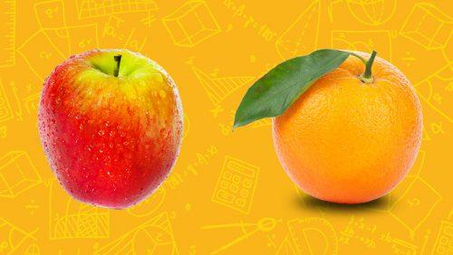 روش «مقایسه سیب با پرتقال» در تبلیغنویسی
