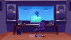 چطور به محتوای صوتی موسیقی پسزمینه اضافه کنیم؟