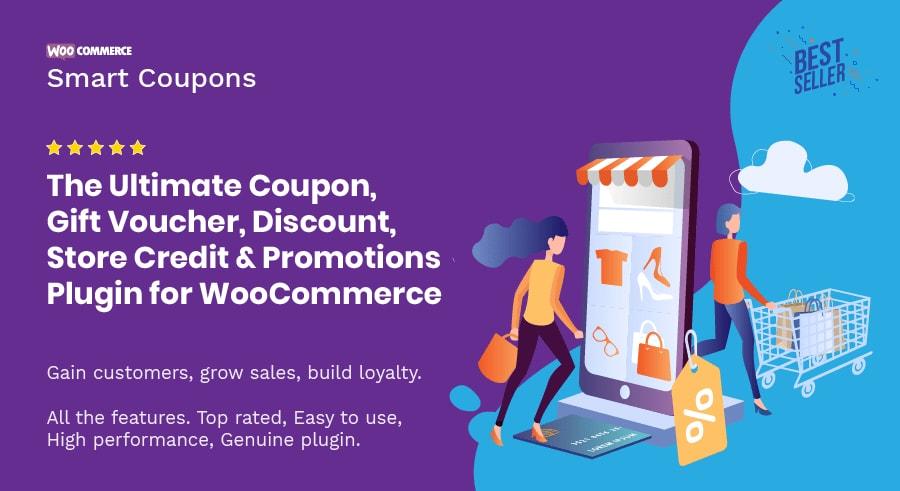 افزونه WooCommerce Smart Coupons
