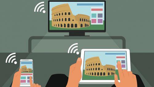 اتصال موبایل به تلویزیون با سیم و بدون سیم